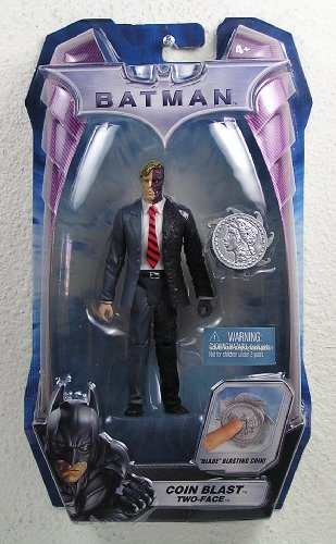 Batman Dark Knight Movie Coin Blast Two-Face Action Figure (Dark Face Knight Two)