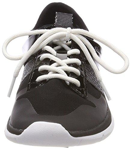Mujer printed Zapatillas blk Snake Calvin Mesh Para Negro 000 Iden Klein Fine qCRw18A