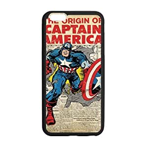 "Gifts Cell Phone Case TPU Phone Cover for iphone 6 plus 5.5"", Captain America iPhone6+ Case"