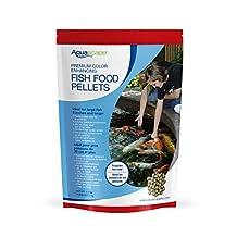 Aquascape 98875 Color Enhancing Fish Food Pellets, 2kg