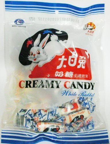 (2PK White Rabbit Creamy Candy 2*6.3 Oz (2*180 Gram) by White Rabbit)