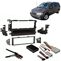 Fits Pontiac Montana 2000-2004 SDIN Aftermarket Harness Radio Install Dash Kit