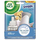 Air Wick Scented Oil Air Freshener Starter Kit, Snuggle Fresh Linen and White Lilac Scent, 1 Count