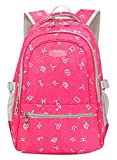JiaYou Kid Child Girl Multipurpose Printed Alphabet Backpack School ...
