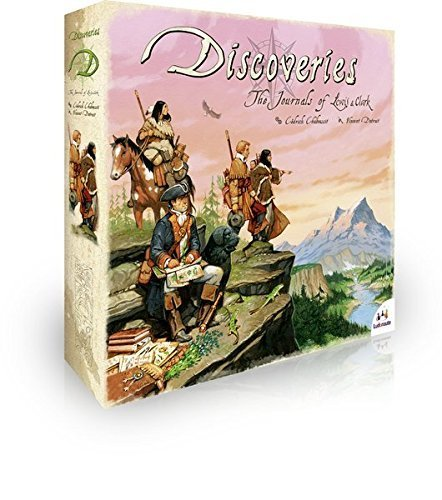 Ludonaute Discoveries The Journals of Lewis and Clark Board Game by Ludonaute