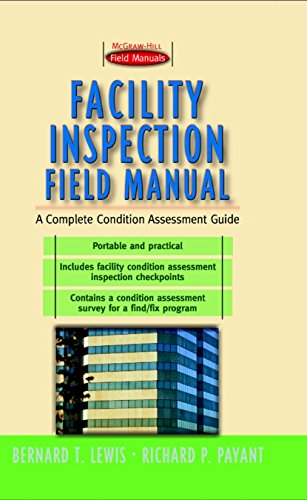 Facility Inspection Field Manual: A Complete Condition Assessment Guide (First-Choice Field Manuals)