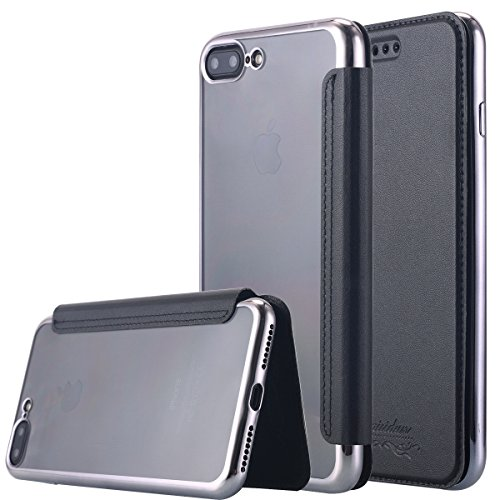 iPhone LONTECT Leather Folio Clear