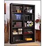 Ten Shelf Double Bookcase 72