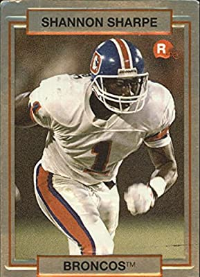 1990 Action Packed Rookie Update #46 Shannon Sharpe RC - NM-MT