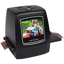 DelightingDigital 35mm/135mm Negative Slide Film Scanner Photo Digitalizer Analog to Digital JPEG Picture File Converter Films Photo Scanner Copier 2.36'' LCD