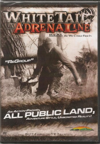 (Whitetail Adrenaline-regroup DVD NEW Bowhunting Whitetail Deer and More)