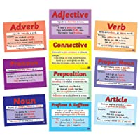 Mixed Literacy Word Grammar Card Posters A4 x 10 - Primary Teaching Services
