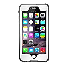 Waterpoof Case for iPhone 6/6S Plus,Merit Knight Series IP68 Certified Case Cover 5.5 Inch(White)