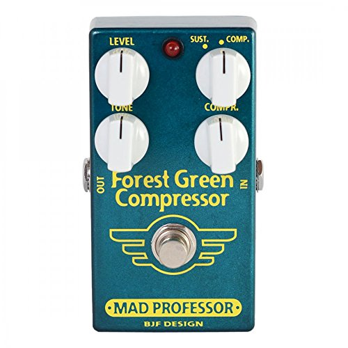 Mad Professor Forest Green Compressor Sustainer Guitar Effects Pedal