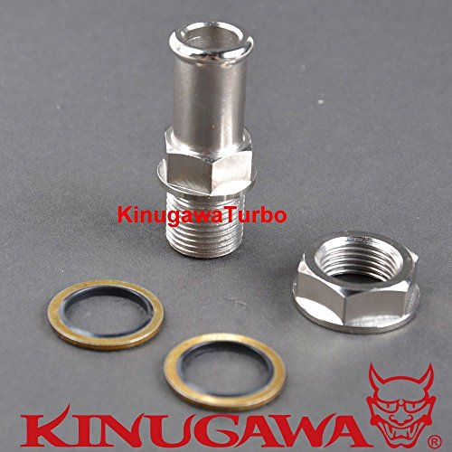 (Turbo Oil Pan Return/Drain Plug Adapter Fitting 5/8