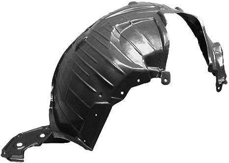 Plastic Passenger Side Fender Splash Shield Front For Rogue 08-13