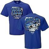 NASCAR Men's 2-Spot Vortex T-Shirt-Dale Earnhardt Jr. #88-Nationwide-Royal Blue-Large