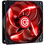 Circle Stay Cool CG-12 120MM Red LED Case Cabinet Fan