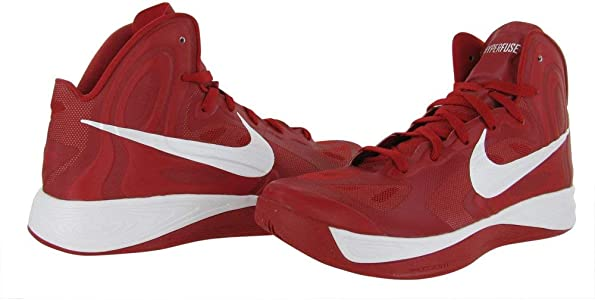 a672f620db47 Hyperfuse TB Basketball Shoes 525019-600 Gym Red White. Nike Hyperfuse TB  Basketball Shoes 525019-600 Gym Red White ...