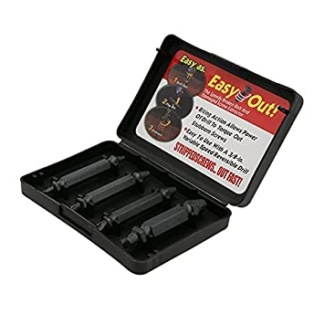 Rolson 5 piezas Juego de extractores de tornillos