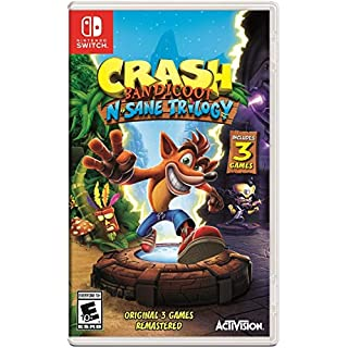 Crash Bandicoot N. Sane Trilogy - Nintendo Switch Standard Edition