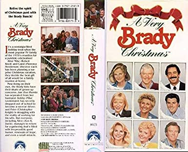 A Very Brady Christmas.Amazon Com A Very Brady Christmas Vhs Movies Tv
