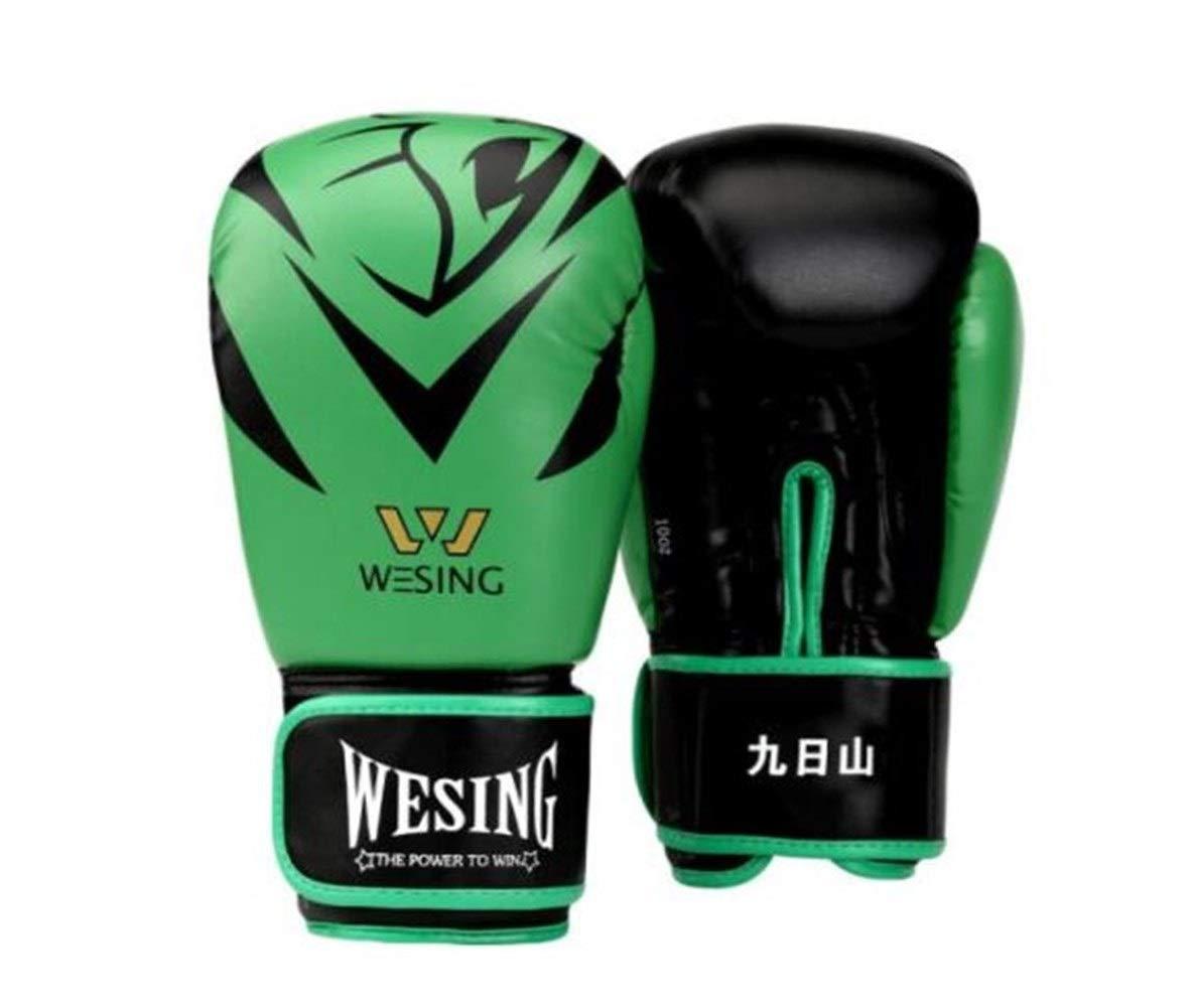 WENPINHUI ボクシンググローブ、レッドムエタイボクシンググローブ、SandaグローブトレーニングSandbagグローブ、プロのボクシンググローブ9色のスタイルから選択 高品質-最高の贈り物 I 16oz
