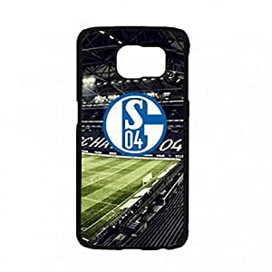 Bundesliga FC Schalke 04 Cover Funda,FC Schalke 04 For Samsung Galaxy S7 Soccer Club Logo Funda,FC Schalke 04 Logo caja del teléfono For Samsung Galaxy S7