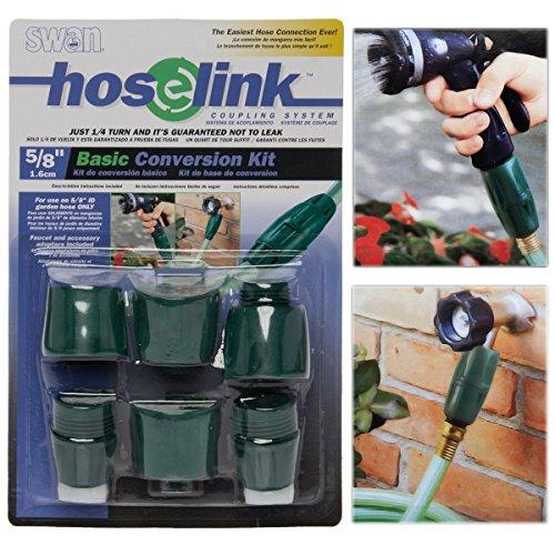 Swan TYG9337 Hose Coupler Kit, Green