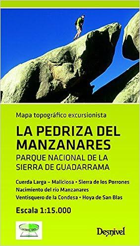 Mapa La Pedriza del Manzanares (Mapa Topografico