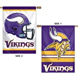 "Minnesota Vikings Official NFL 28""x40"" Banner Flag by Wincraft"