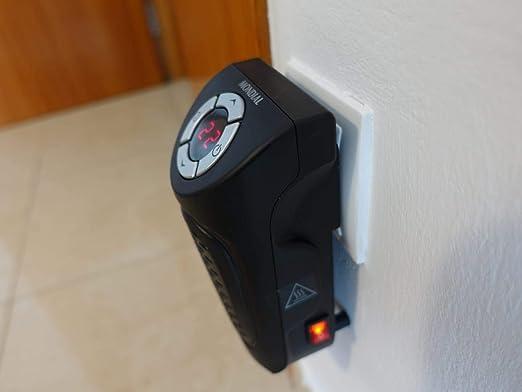 Mondial A12 Calentador, Calefactor Portátil, 350 W, Negro: Amazon.es: Hogar
