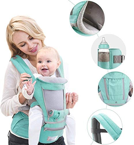 Infant Baby Carrier Réglable Taille 0-3 ans Confort Baby Carrier