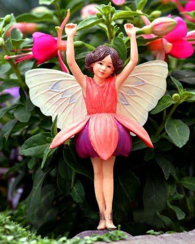 Add an Accent Cicely Mary Barker Fuschia Flower Fairy Ornament