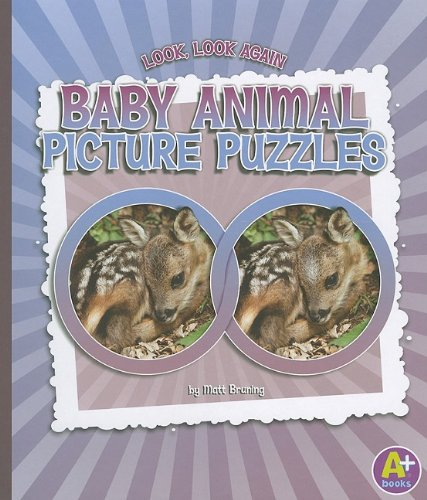 Download Baby Animal Picture Puzzles (Look, Look Again) pdf