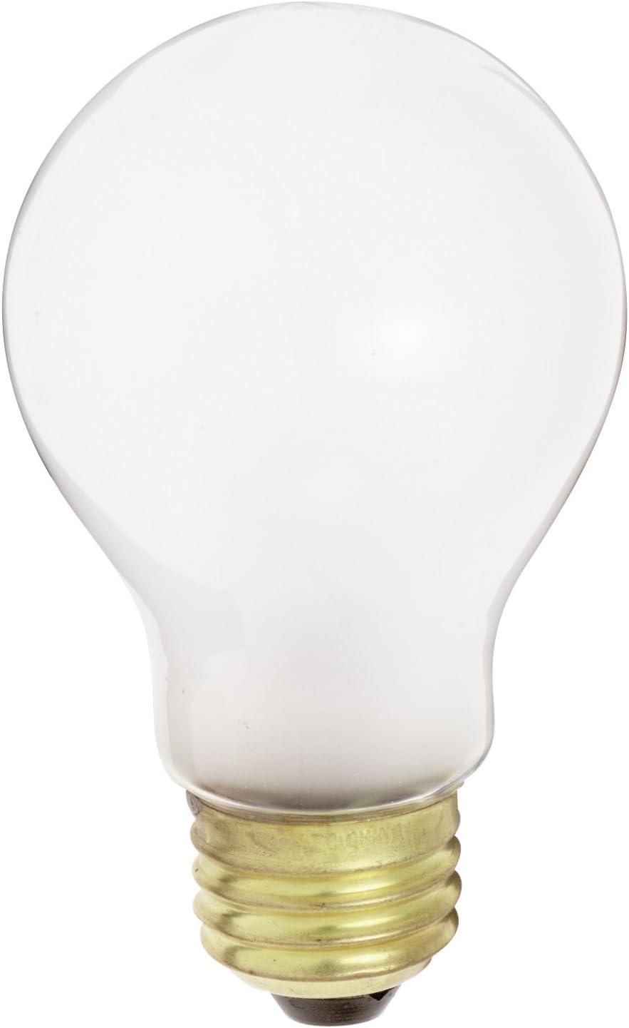 Frosted, Satco Products S5012 12-Volt 75-Watt A21 Medium Base Light Bulb