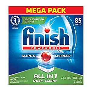 Ratings and reviews for Finish All In 1 Powerball, Fresh 85 Tabs, Dishwasher Detergent Tablets (Packaging May Vary)