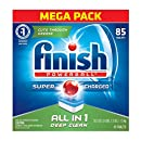 Finish All In 1 Powerball, Fresh 85 Tabs, Dishwasher Detergent Tablets (Packaging May Vary)