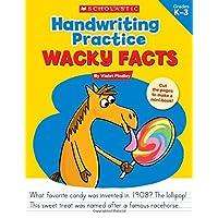 Wacky Facts Handwriting Practice