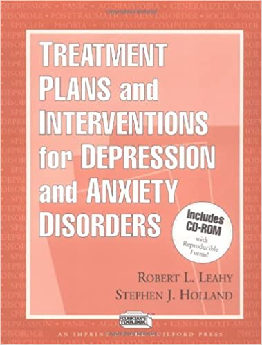 Treatment Plans and Interventions for Depression and Anxiety ...