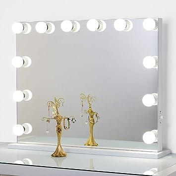Gut bekannt Toyswill Rahmenlose Hollywood Schminkspiegel, LED beleuchtete XH02