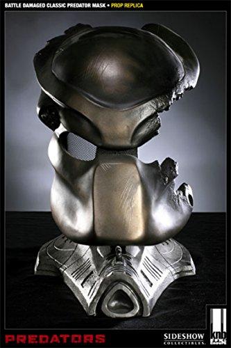 Sideshow Collectibles - Predators réplique 1/1 Classic Predator Maske Battle Damaged
