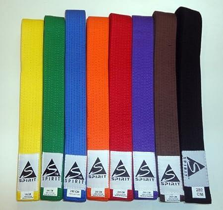 Cinturones de artes marciales de Spirit