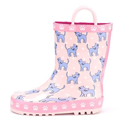 KomForme K Kids Girl Rain Boots (Fashion Kids Boots)