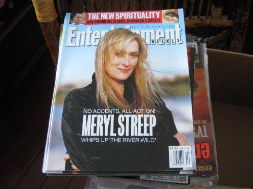 Entertainment Weekly Magazine (MERYL STREEP....'The River Wild' , Tom Hanks , Brett Butler)