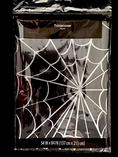 Gothic Witch-SPIDER WEB COBWEB DOOR TABLE COVER CLOTH-Halloween Party Decoration