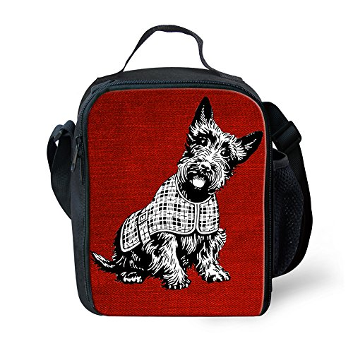 11 Pique à Color Zoo Showudesigns Enfants Nourriture à Small 3D Lunch Nique Animal Portable Boîte Sac Adulte déjeuner Polyester Wolf Hpp1R8