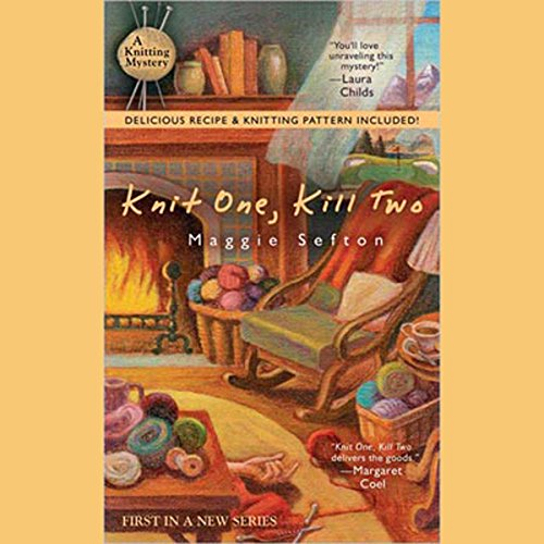 Knit One, Kill Two: A Knitting Mystery, Book 1 Audiobook [Free Download by Trial] thumbnail