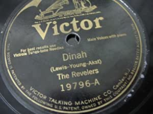 Dinah / Oh, Miss Hannah [78rpm Single]