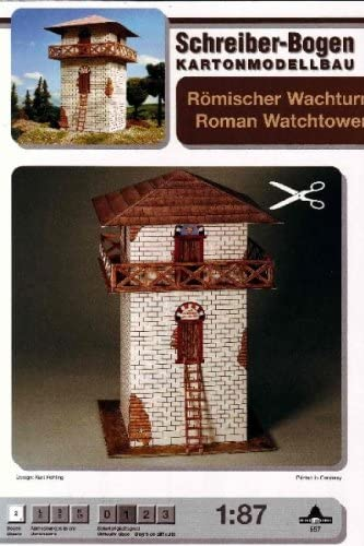 Aue Verlag Schreiber-Bogen Card Modelling Roman Watchtower